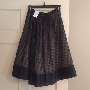 NWT Byron Lars Anthropologie ballerina print skirt